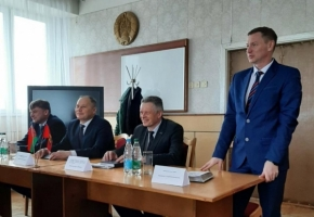 "The new head of the CJSC ""Mogilev Car Building Plant"""