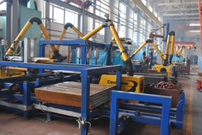 Mogilev Car Building Plant has launched a new line for the production of hatches for gondola cars